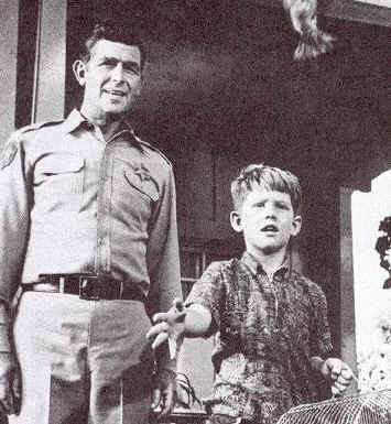 Andy Griffith en Ron Howard